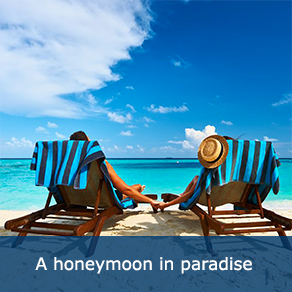 A honeymoon in paradise