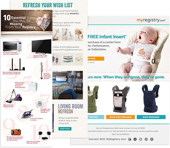 Our Gift Registry Software Solution is Marketable
